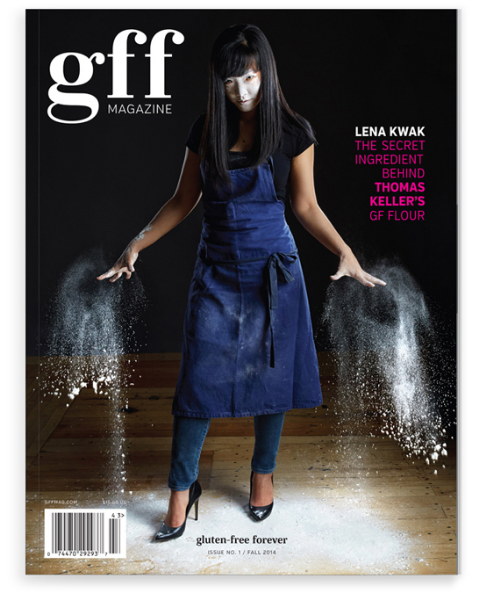 Gluten Free Forever Magazine Cover from gffmag.com