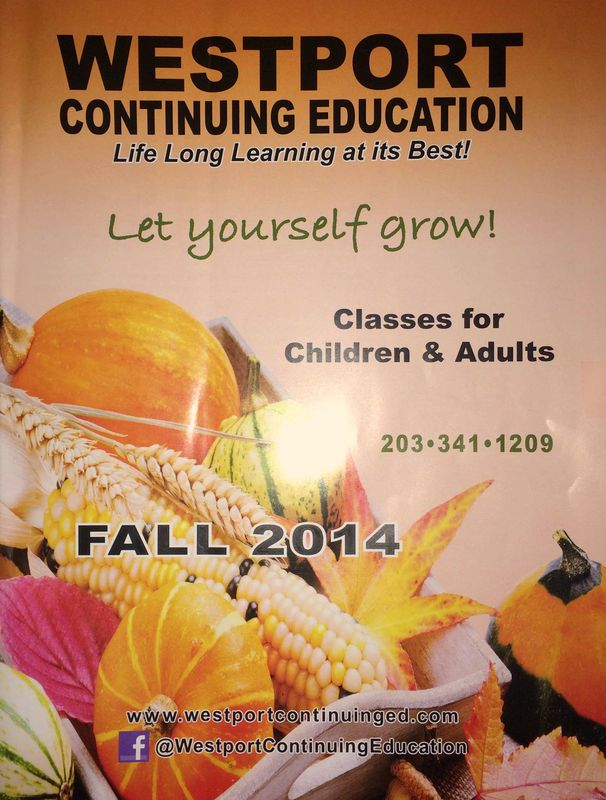 Westport CT Continuing Education Catalog Fall 2014