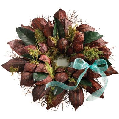 Cocoa Pod Wreath2