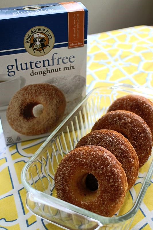 Exquisite Dish Reviews King Arthur Gluten-free Doughnut Mix